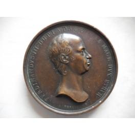 Gran Ducato di Toscana medaglia a ricordo della morte di Ferdinando III 1824