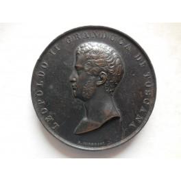 Gran Ducato di Toscana medaglia per l'ampliamento delle franchigie a Livorno 1834