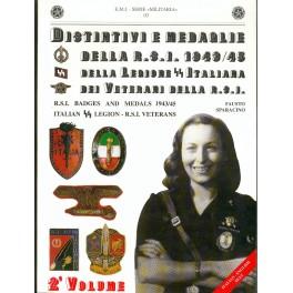 Distintivi e medaglie della rsi repubblica sociale for Senatori della repubblica italiana nomi