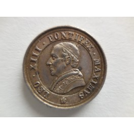 Leone III medaglia ai benemerenti argento