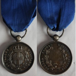 Medaglia al valore militare guerra contro l'Impero d'Austria