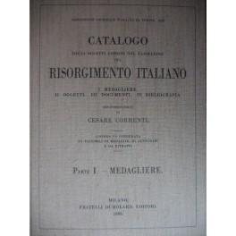Catalogo sulle medaglie del Risorgimento Camozzi-Vertova Bergamo