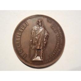 Como medaglia per l'inaugurazione del Monumento a Garibaldi 1889