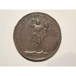 Leopoldo II medaglia ai membri della Società S. Giovanni Battista 1828