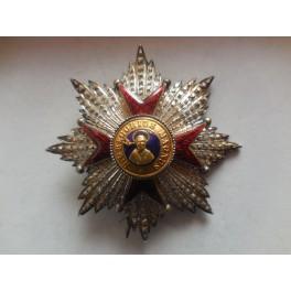 Placca di Gran croce ordine di San Gregorio Magno