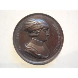 Medaglia a ricordo del 5 congresso degli scienziati a Lucca 1843