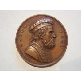 Medaglia a ricordo del 9 congresso degli scienziati a Venezia 1847