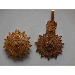 Set di Gran croce dell'ordine della stella d'Etiopia