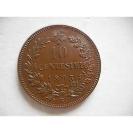 10 centesimi 1893 Roma SPL+