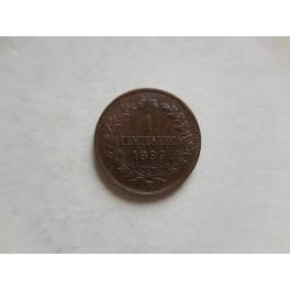 1 centesimo 1899 qFDC