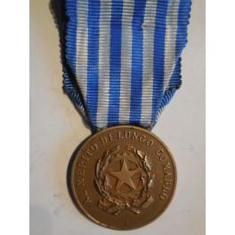 medaglia al merito di lungo comando nella Guardia di Finanza