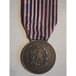 Medaglia al merito di lungo comando in argento Polizia