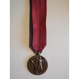 Medaglia mignon ai volontari di querra 1915 1918
