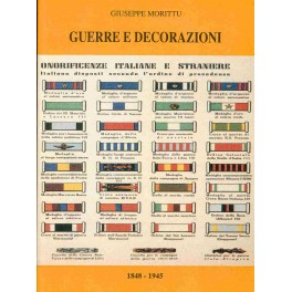 Catalogo di medaglie militari e civili Morittu 2° volume