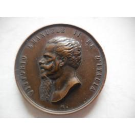 Medaglia a ricordo della morte del Re 1878