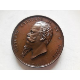 Medaglia per la visita del re a Perugia 1869