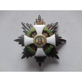 Placca di Gran croce ordine di S. Agata San Marino