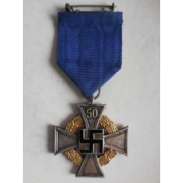 Germania croce per 50 anni di fedele servizio