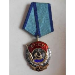 Russia medaglia dell'ordine della Bandiera rossa del lavoro