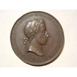 Regno Lombardo Veneto medaglia per l'incoronazione di Ferdinando I 1838