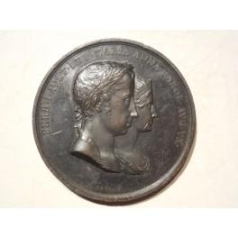 Regno Lombardo Veneto medaglia per l'incoronazione di Ferdinando I e M. Carolina 1838