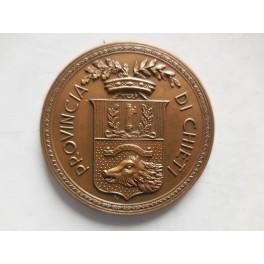 Chieti medaglia in onore del prefetto Francesco Sepe 1939