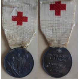 CrI medaglia per i soccorritori della Croce Rossa Terremoto calabro-siculo 1908