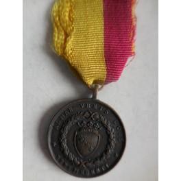 Medaglia ai volontari romani per la difesa di Vicenza 1848