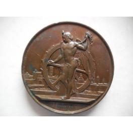 Prato medaglia per la mostra arti e prodotti 1880
