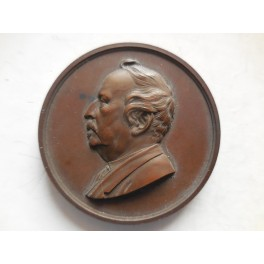 Medaglia in onore Francesco Carrara 1876 Lucca