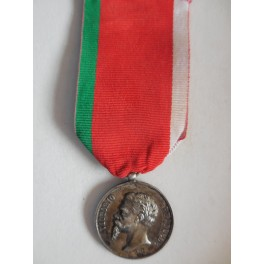 Medaglia a ricordo della liberazione della Sicilia 1860