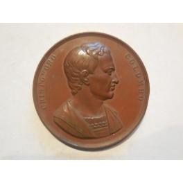 Medaglia a ricordo del 8 congresso degli scienziati a Genova 1846