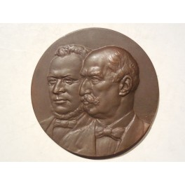 Medaglia ricordo Cavour e Giolitti 1951