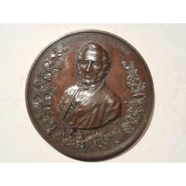 Medaglia decennale morte di Alessandro Manzoni 1883