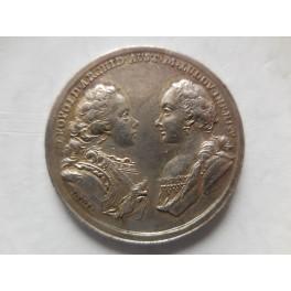 Gran Ducato Toscana matrimonio fra Pietro Leopoldo e maria Lodovica 1765