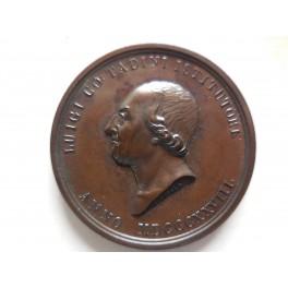 Bergamo medaglia premio accademia di belle arti Lovere