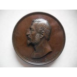 Medaglia in onore del Ministro Neri Corsini di Firenze 1859
